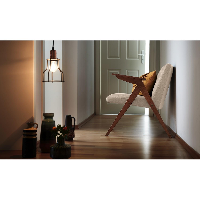 home24 Studio Copenhagen Sessel Frazer Sahara Webstoff 65x70x66 cm (BxHxT)