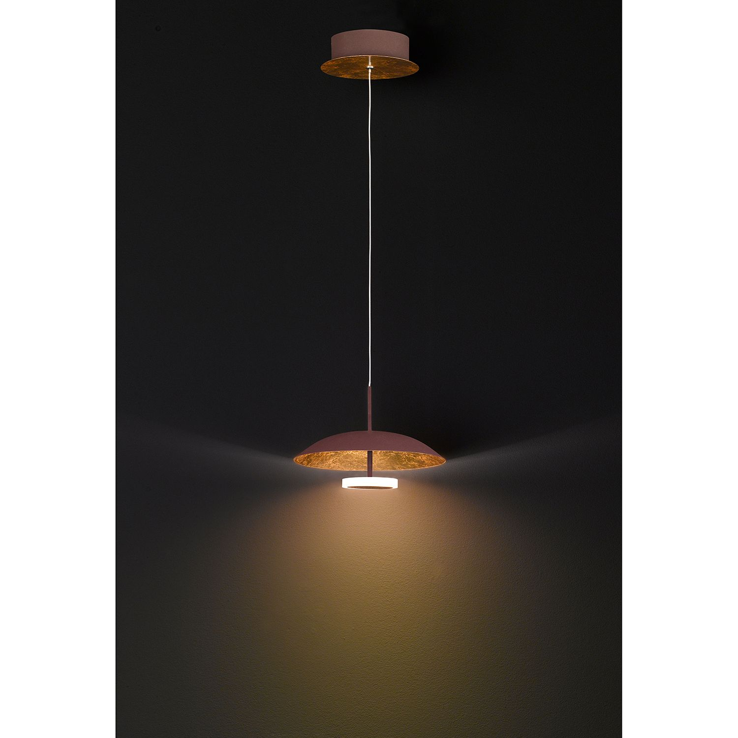 home24 LED-Pendelleuchte Pierre I