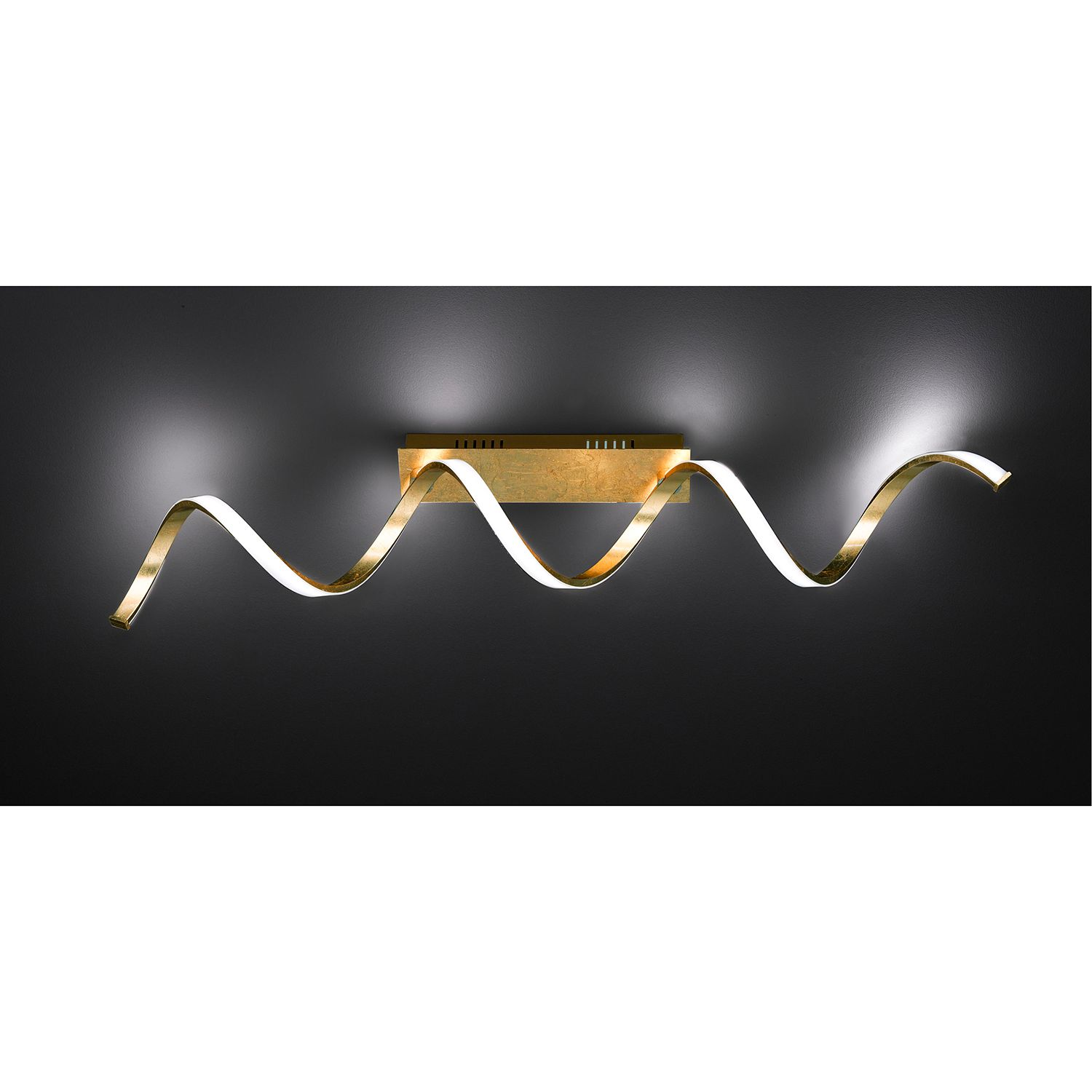 home24 LED-Deckenleuchte Russell