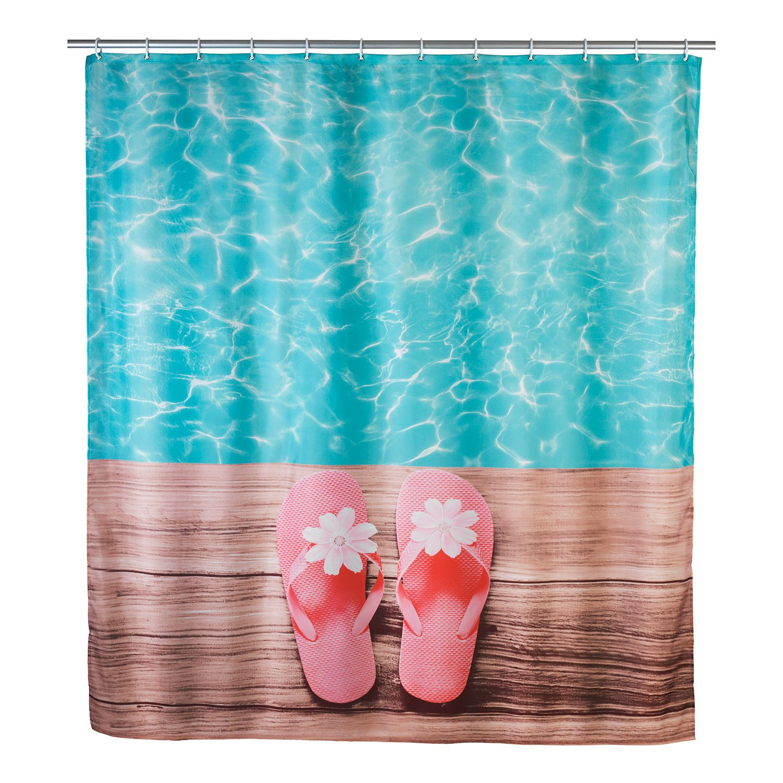 home24 Duschvorhang Hawaii | Bad > Duschen > Duschvorhänge | WENKO
