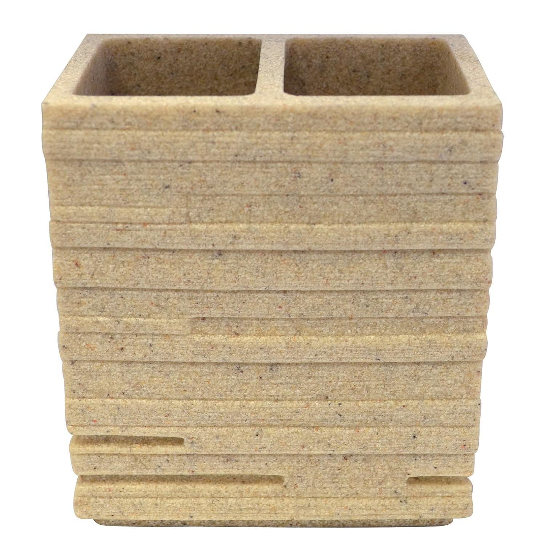 Zahnbürstenbecher Brick, Grund