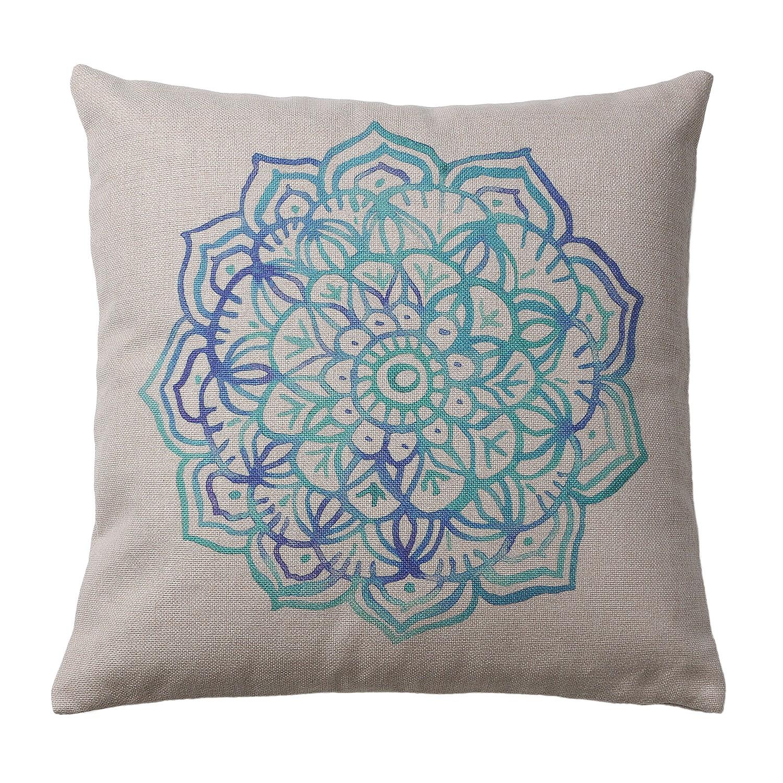 home24 Dekokissen Shadi I | Heimtextilien > Decken und Kissen > Kissen | Blau | Textil | twentyfour