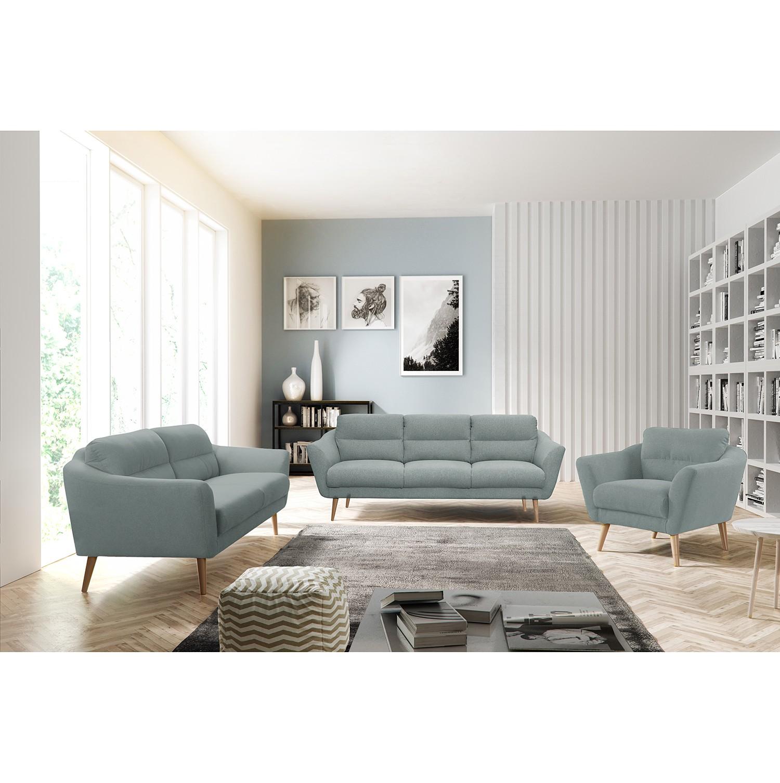 home24 Polstergarnitur Lucinda I (3-2)   Wohnzimmer > Sofas & Couches > Garnituren   Blau   Norrwood