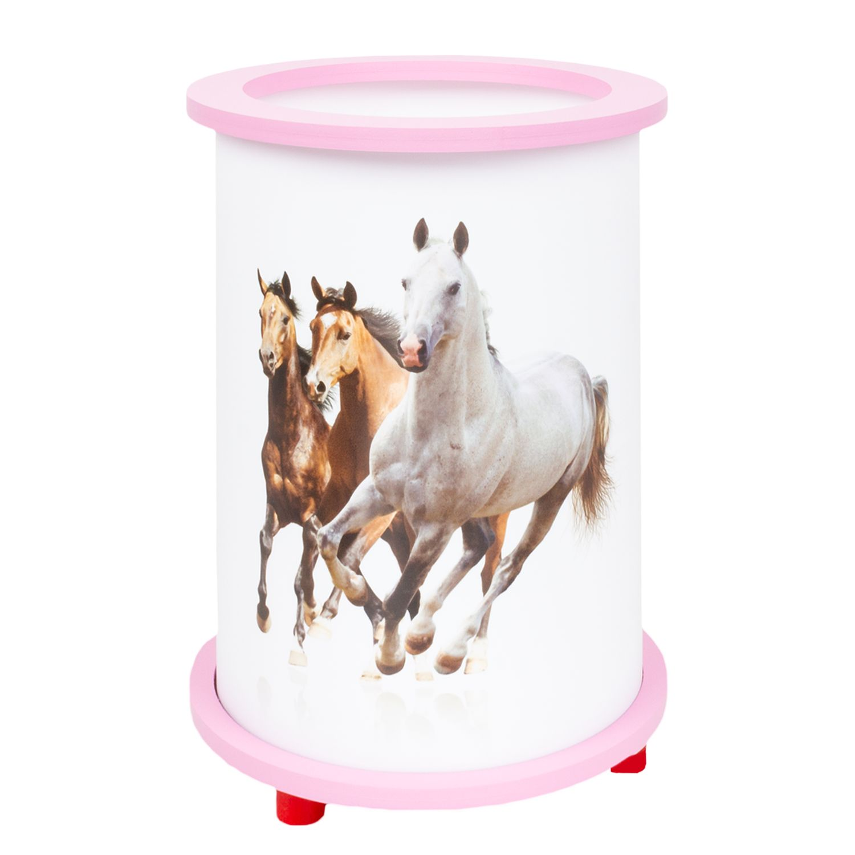 home24 Tischleuchte Pferde