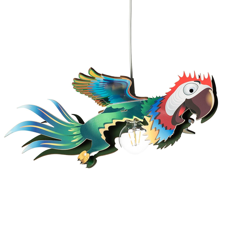 home24 Pendelleuchte Papagei