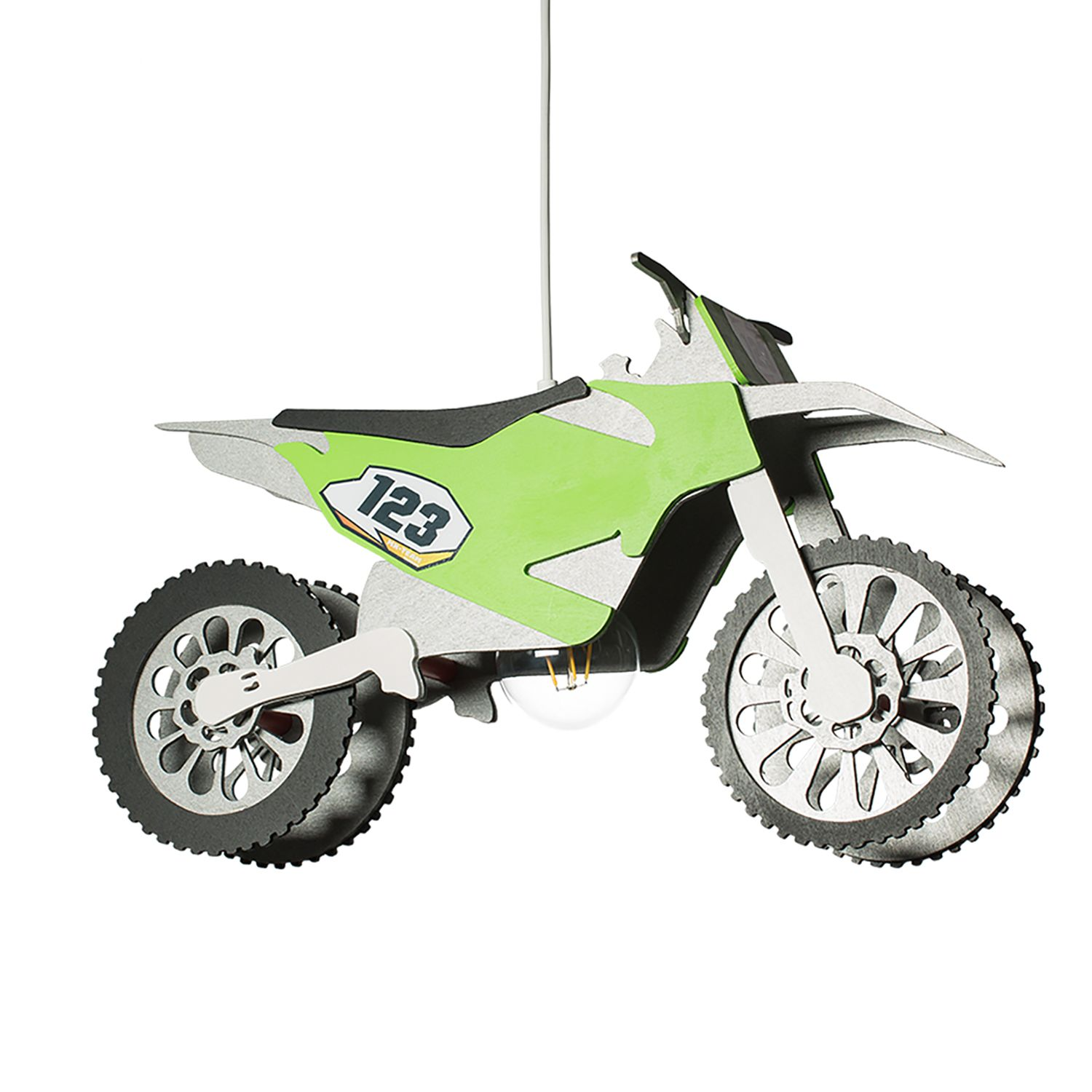 Suspension Motocrossmaschine