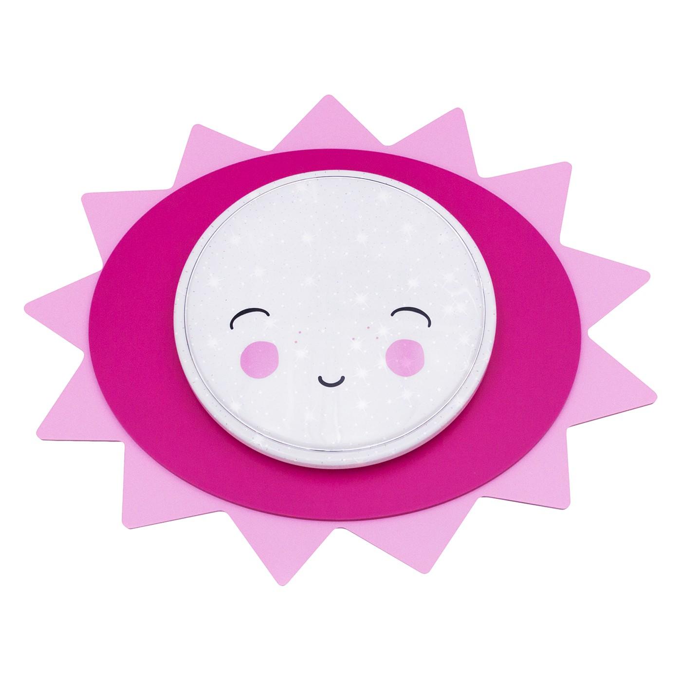 home24 LED-Deckenleuchte Sunny