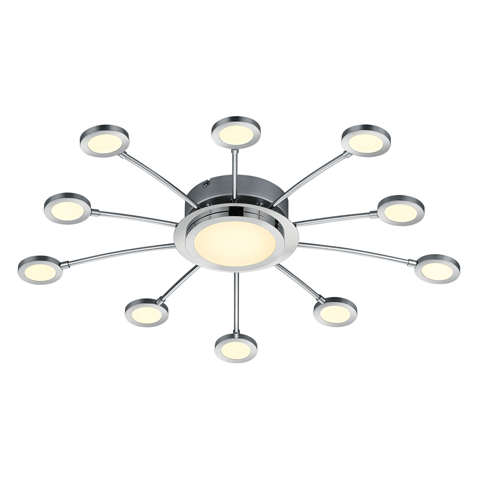 home24 LED-Deckenleuchte Bodrum