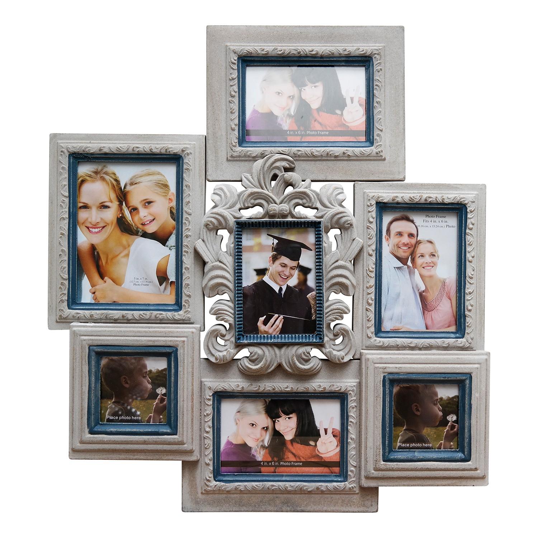 home24 Bilderrahmen Jara   Dekoration > Bilder und Rahmen > Rahmen   Grau   Holzwerkstoff - Glas   My Flair