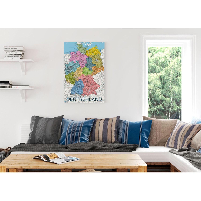 Bild Deutschlandkarte, Reinders