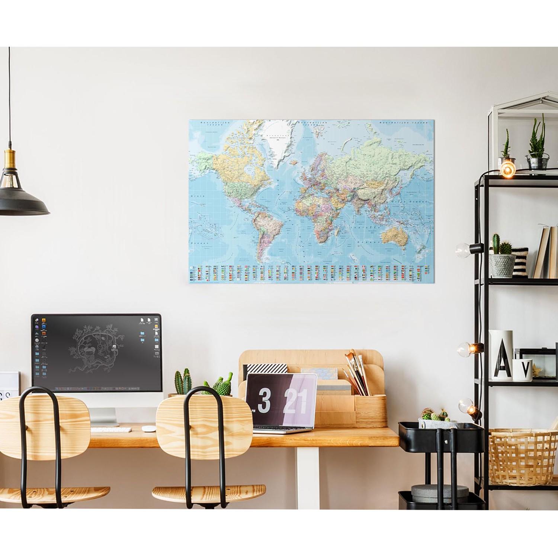 Bild Weltkarte V, Reinders
