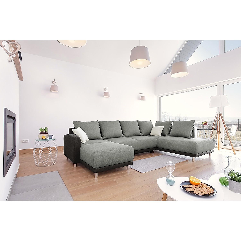 home24 Wohnlandschaft Knoop I | Wohnzimmer > Sofas & Couches > Wohnlandschaften | Grau | loftscape