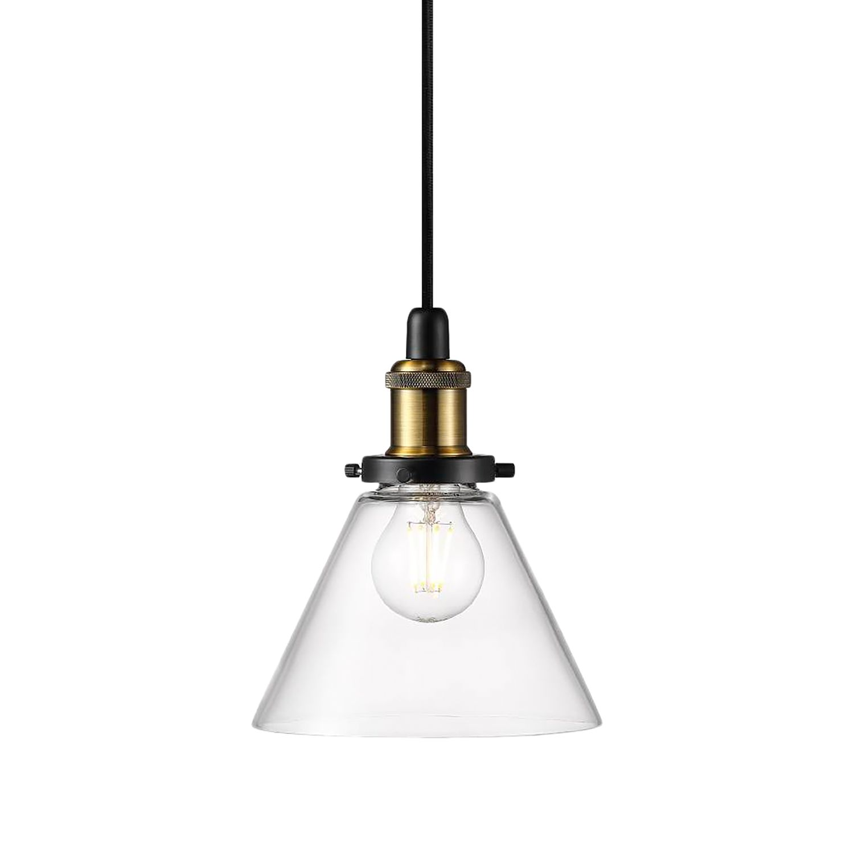 Pendelleuchte Disa Kaufen - Glas / Stahl 1-flammig Transparent