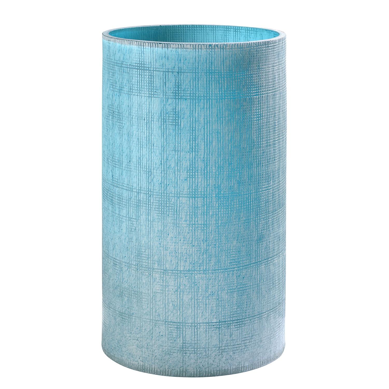 home24 Vase Ashley | Dekoration > Vasen > Tischvasen | Blau | Sompex