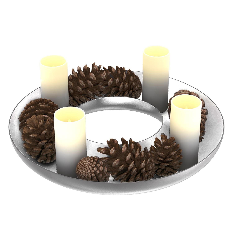 home24 Adventskranz Circle | Weihnachten > Adventskranz und Weinachtsleuchter | Siehe shop | Sompex