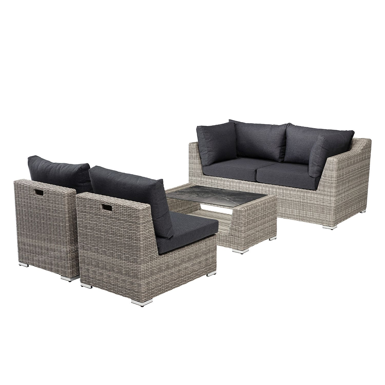 home24 Loungeset Costa (4-teilig) | Garten > Gartenmöbel > Loungemöbel-Garten | Grau | Kettler