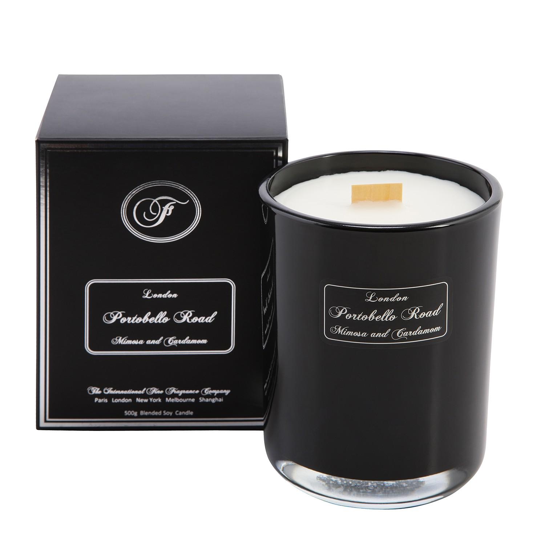 home24 Duftkerze Portobello Road | Dekoration > Kerzen und Kerzenständer > Kerzen | Schwarz | Fine Fragrance Company