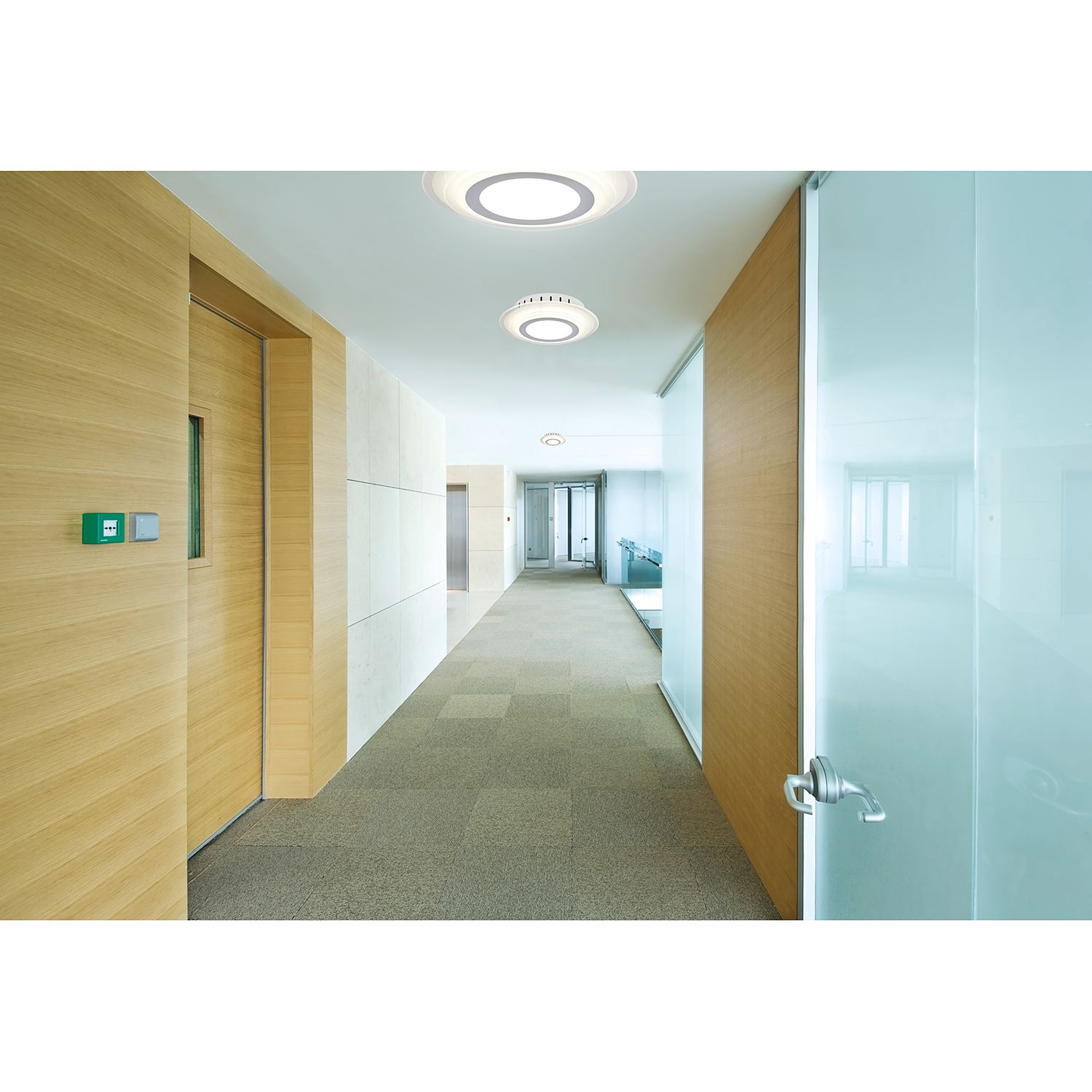 home24 LED-Deckenleuchte Lucca