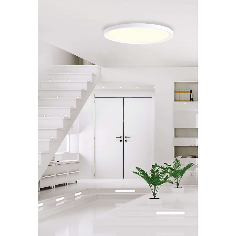 home24 LED-Deckenleuchte Frisbee