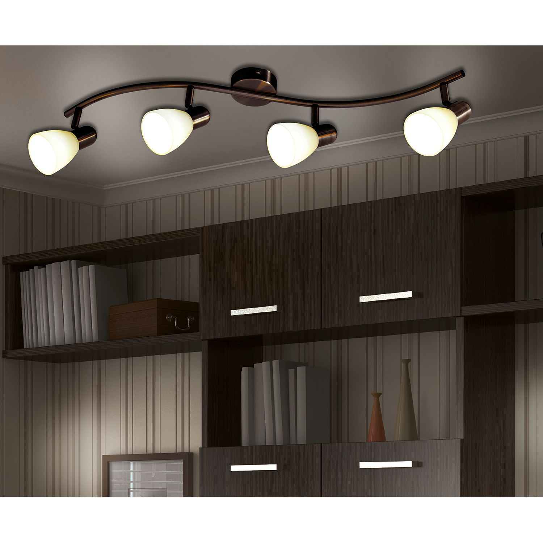 home24 LED-Wandleuchte Mestre