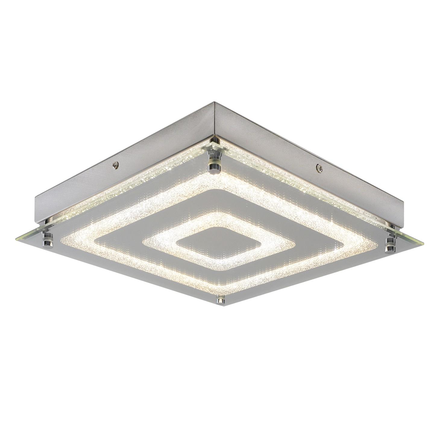home24 LED-Deckenleuchte Thun II
