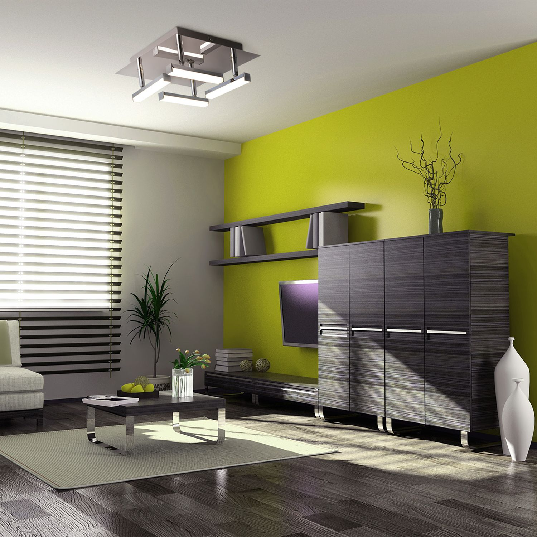 home24 LED-Deckenleuchte Turin II