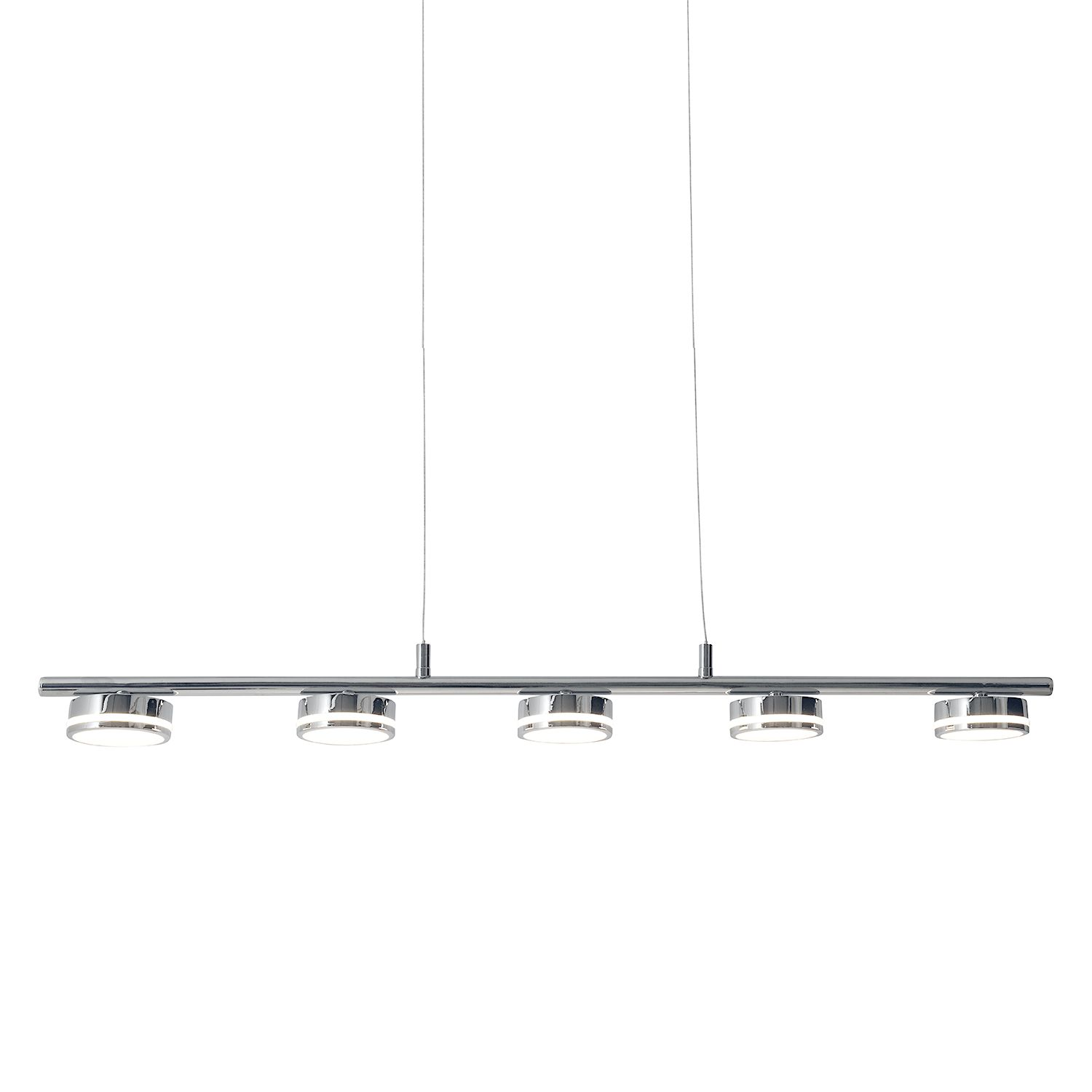 home24 LED-Pendelleuchte Beam II