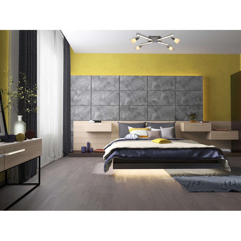 home24 LED-Deckenleuchte Ibiza III