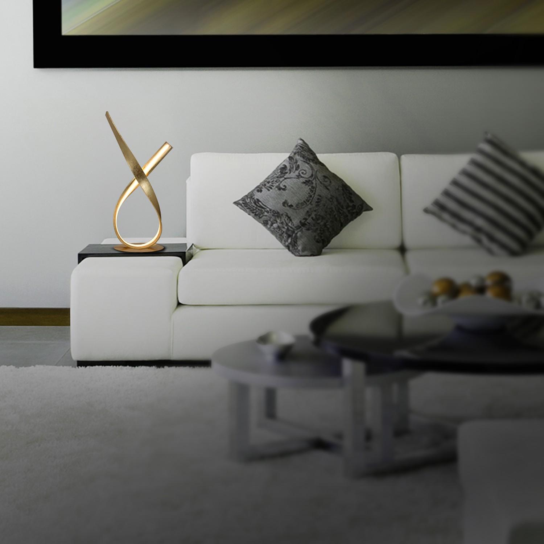 home24 LED-Tischleuchte Pisa