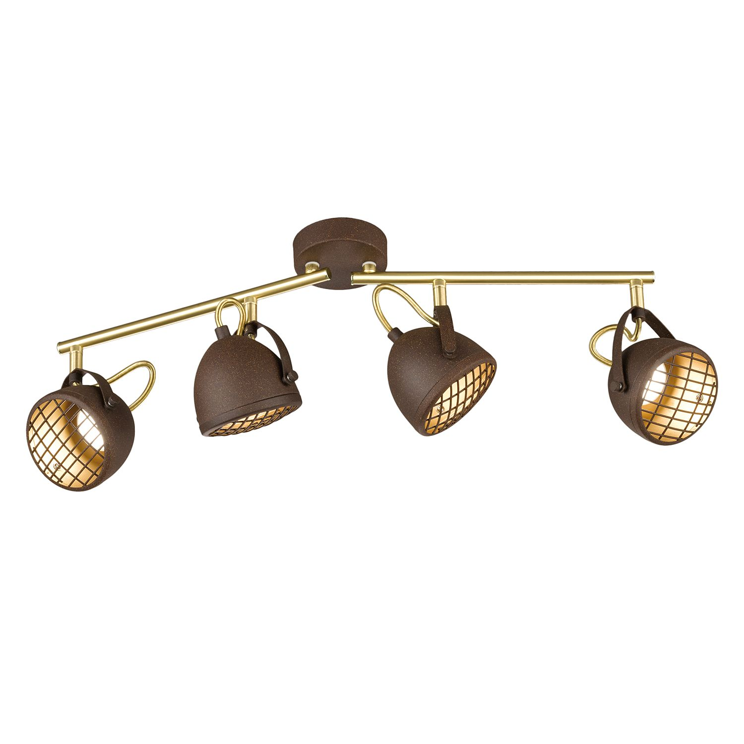 home24 LED-Deckenleuchte Grill