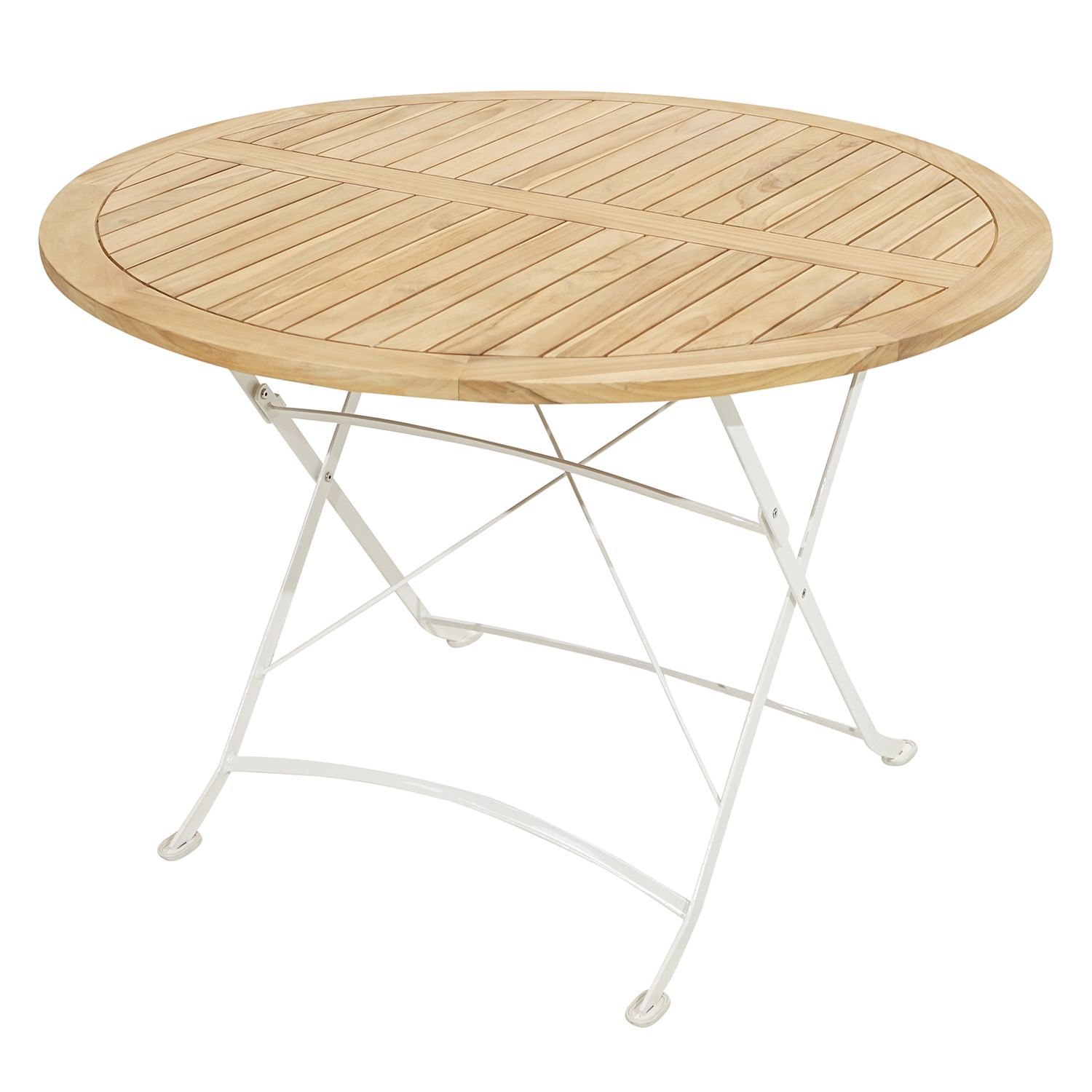 Table de jardin pliante Rom II
