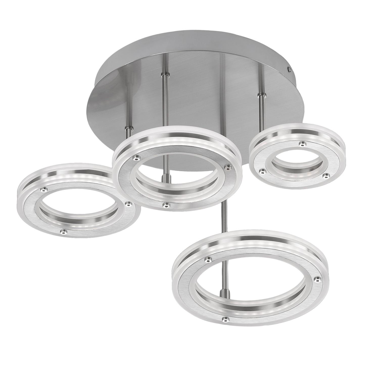 home24 LED-Deckenleuchte Kreis I