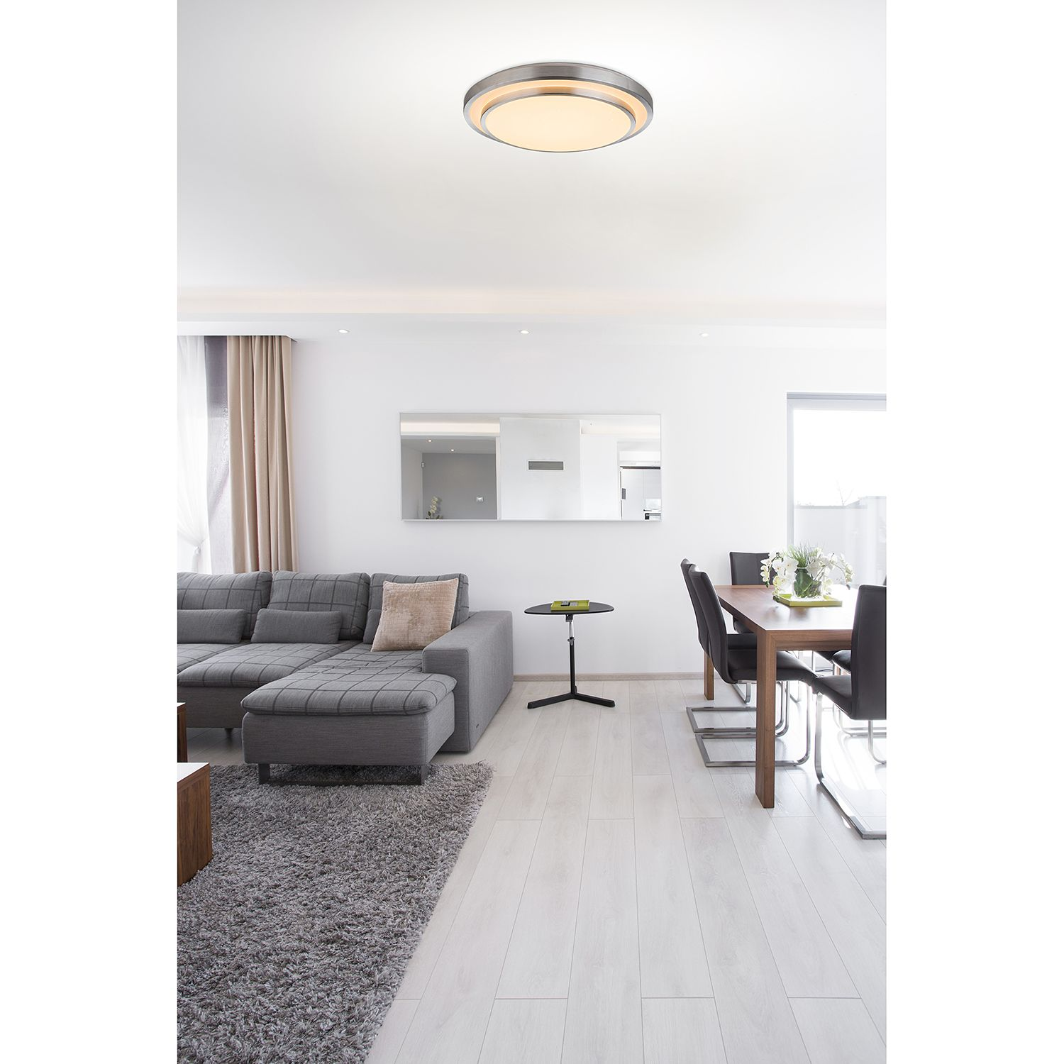 home24 LED-Deckenleuchte Ina