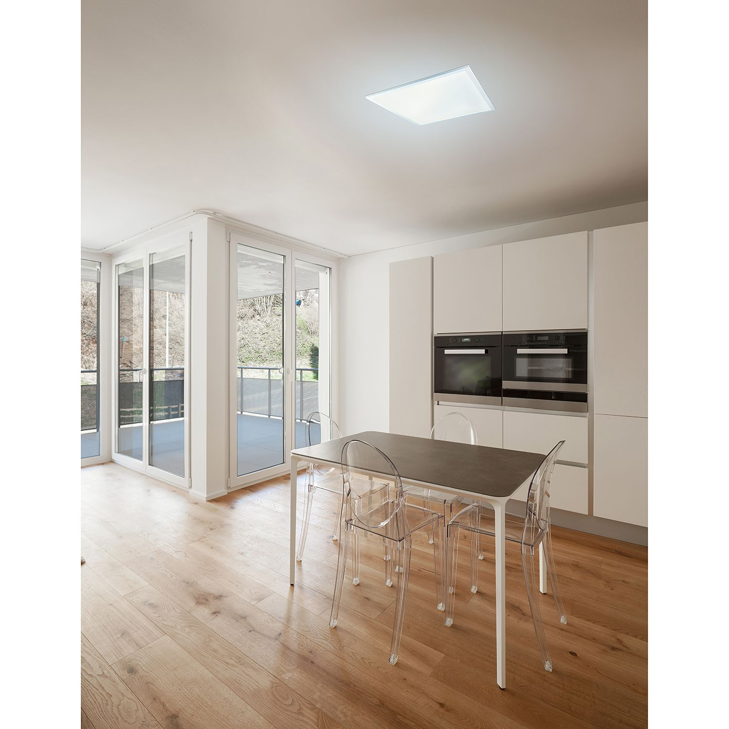 home24 LED-Deckenleuchte Rosi XI