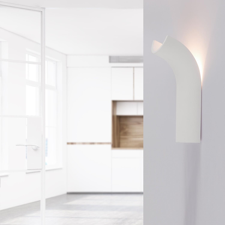 home24 LED-Wandleuchte Christine I