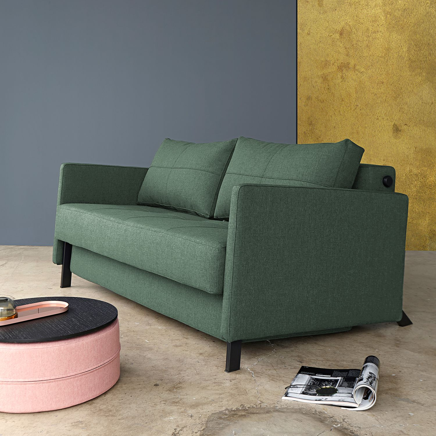 home24 Schlafsofa Cubed V