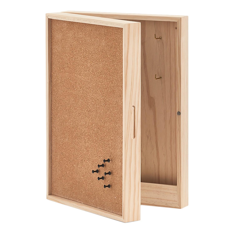 home24 Schluesselkasten Storvorde II | Flur & Diele > Schlüsselkästen | Braun | Holzwerkstoff | Zeller