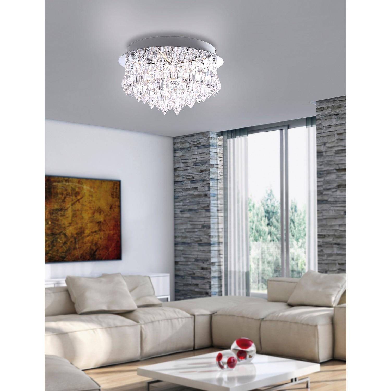 home24 LED-Deckenleuchte Kadya