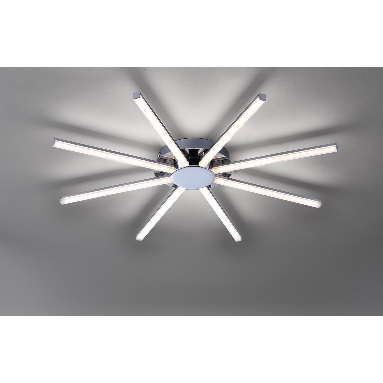 home24 LED-Deckenleuchte Simon V