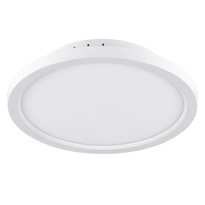 home24 LED-Deckenleuchte Flat XII