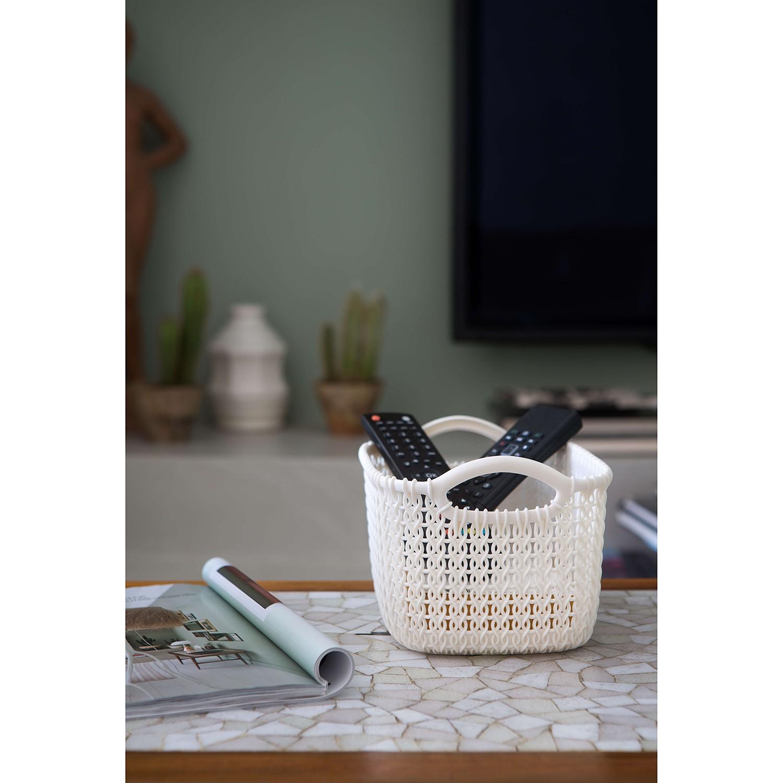 Aufbewahrungsbox Knit L (3er-Set), Curver