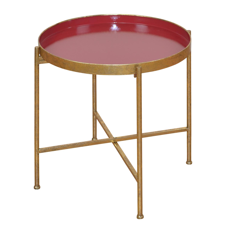 Tabletttisch aus Metall