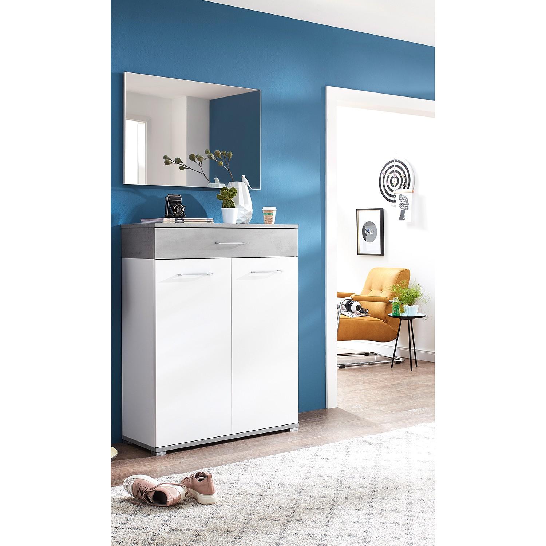 home24 Garderobenset Nerola I (2-teilig) | Flur & Diele > Garderoben > Garderoben-Sets | Germania