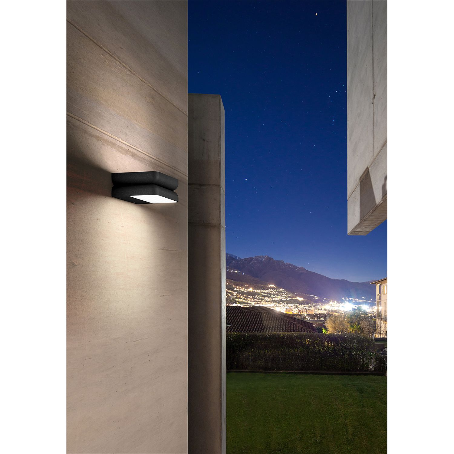 home24 LED-Wandleuchte Snap