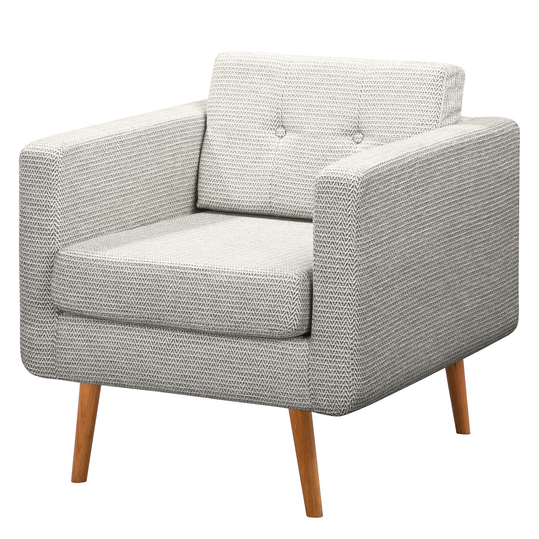 Mørteens Sessel Croom II Schwedisch Weiß Webstoff 77x86x84 cm (BxHxT)