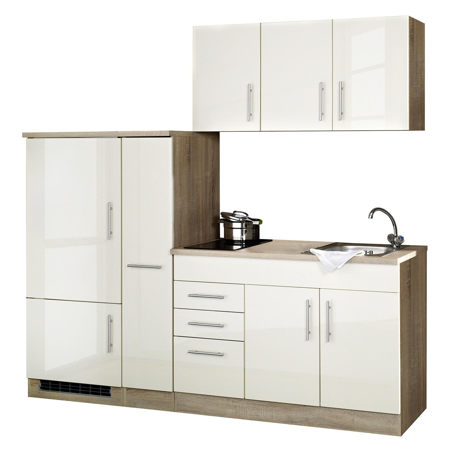 home24 Kuechenzeile Toronto II   Küche und Esszimmer > Küchen   Beige   Held Moebel