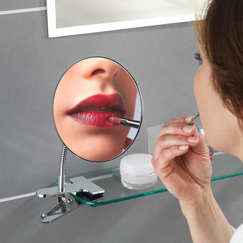 home24 Kosmetikspiegel Clip | Bad > Bad-Accessoires > Kosmetikspiegel | Wenko