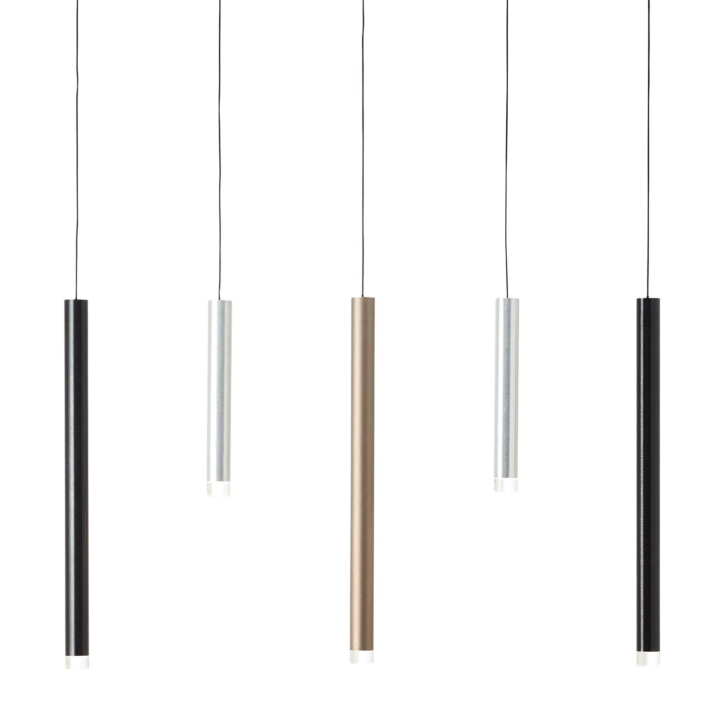 home24 LED-Pendelleuchte Cembalo II