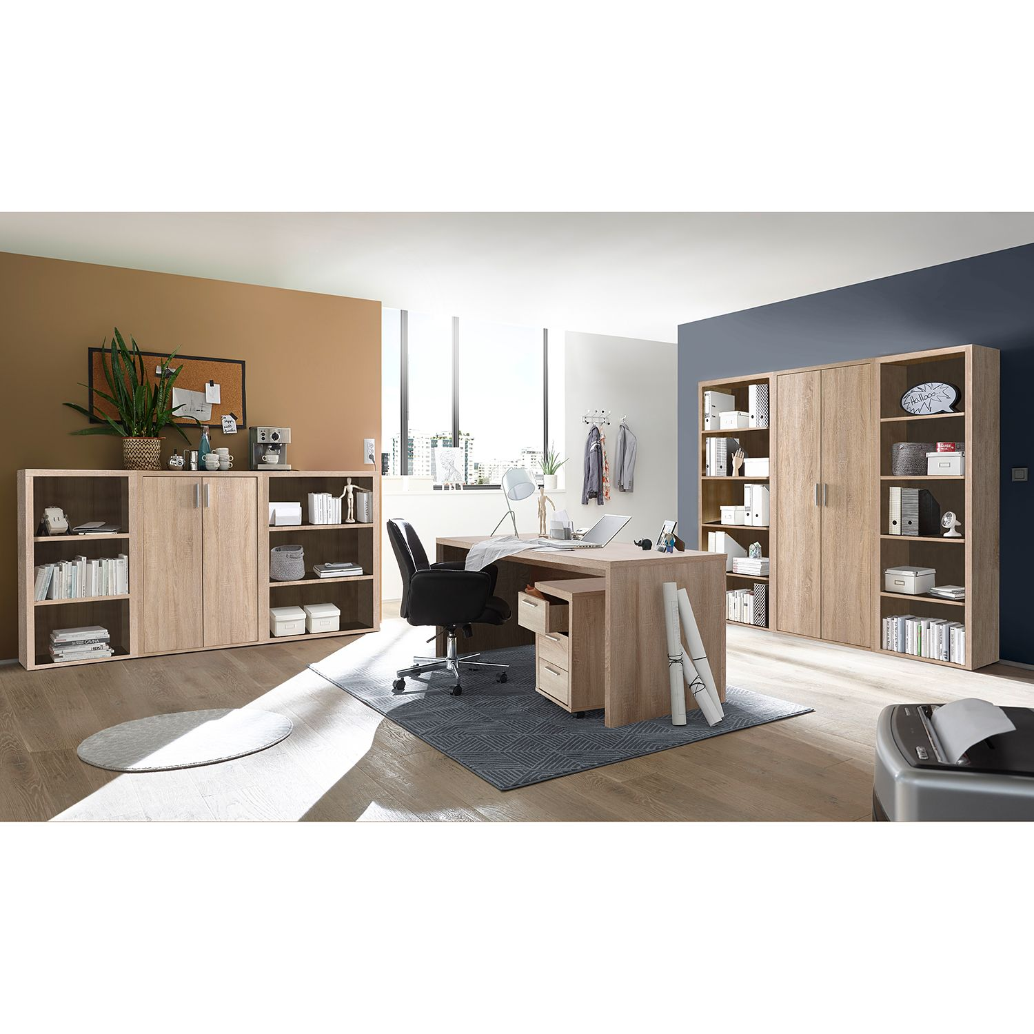 Dossierkast Wallu II, Furnitive