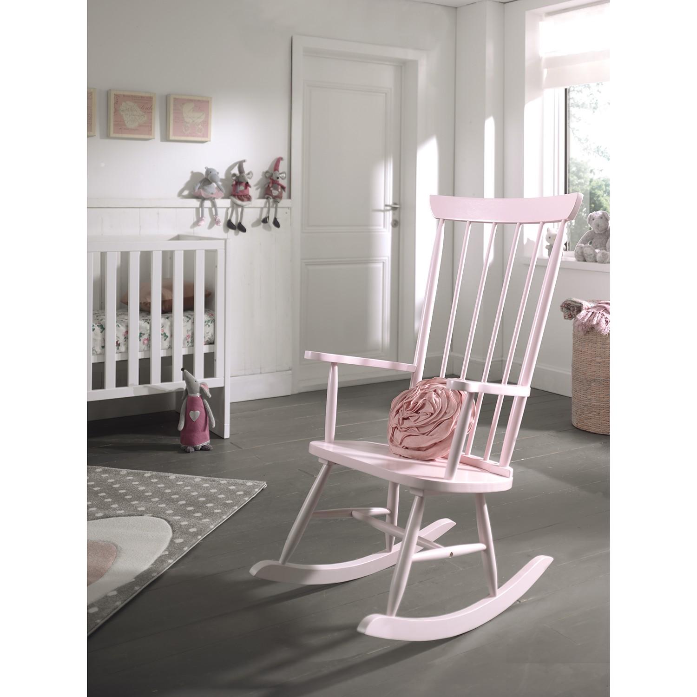 home24 Schaukelstuhl Pennyroyal   Wohnzimmer > Stüle > Schaukelstühle   Pink   Vipack